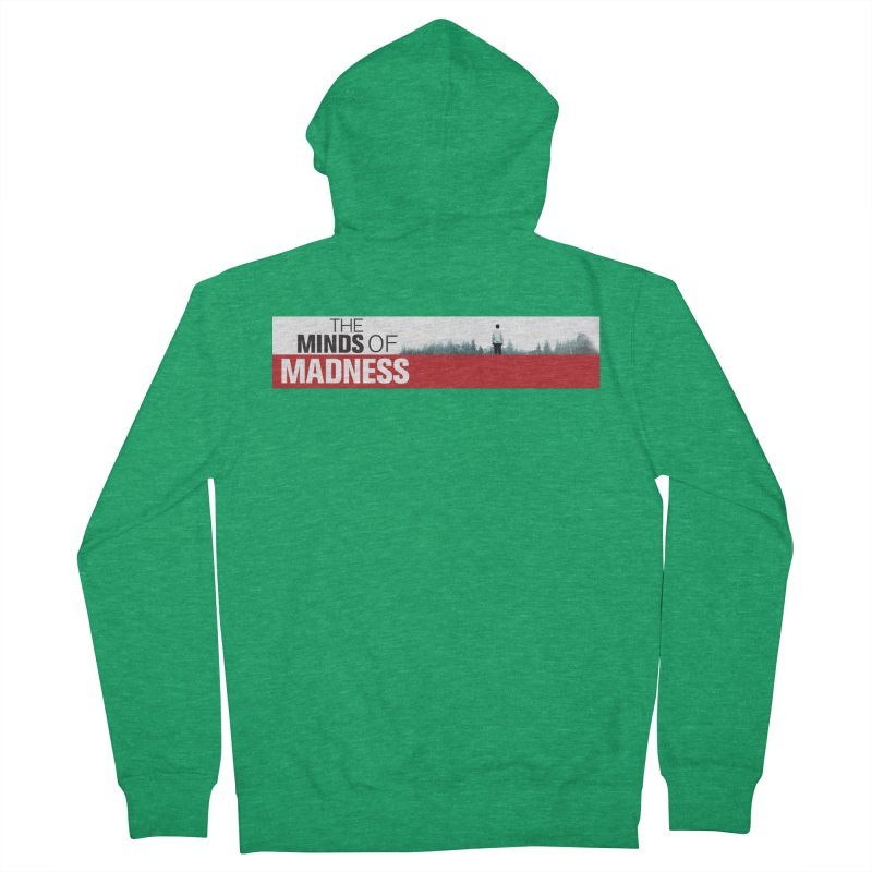 Choose items with - The Banner Men's French Terry Zip-Up Hoody by The Minds Of Madness Podcast