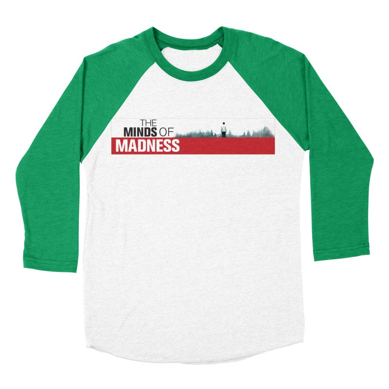 Choose items with - The Banner Men's Baseball Triblend Longsleeve T-Shirt by The Minds Of Madness Podcast