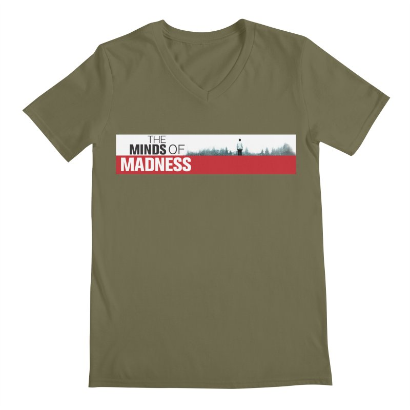 Choose items with - The Banner Men's Regular V-Neck by The Minds Of Madness Podcast
