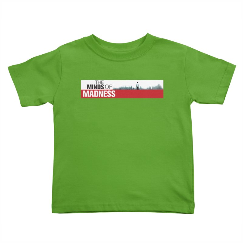 Choose items with - The Banner Kids Toddler T-Shirt by The Minds Of Madness Podcast