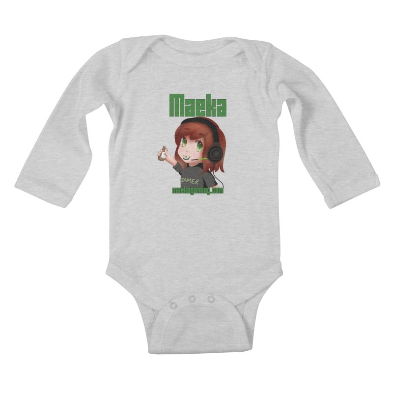 Maeka | maekagaming.com Kids Baby Longsleeve Bodysuit by Maeka's Artist Shop