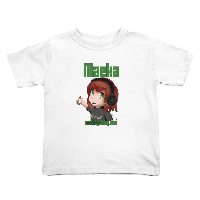 Maeka | maekagaming.com Kids Toddler T-Shirt by Maeka's Artist Shop