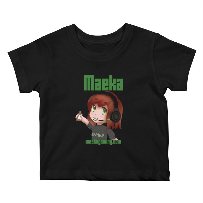 Maeka | maekagaming.com Kids Baby T-Shirt by Maeka's Artist Shop