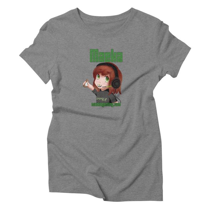 Maeka | maekagaming.com Women's Triblend T-shirt by Maeka's Artist Shop
