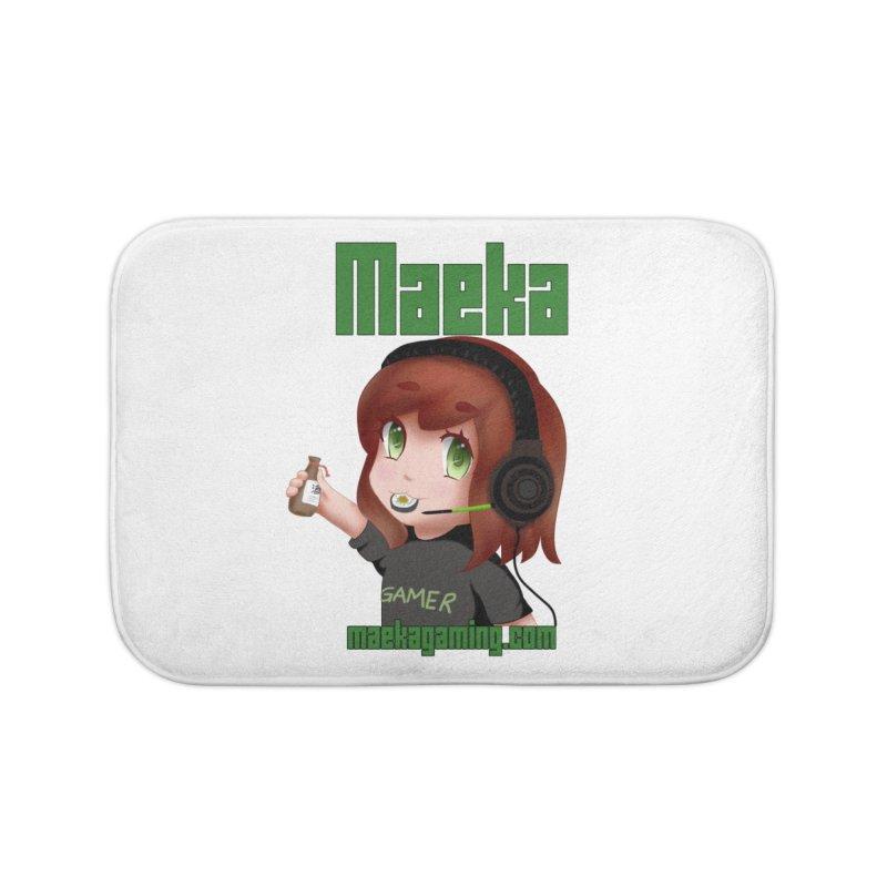 Maeka | maekagaming.com Home Bath Mat by Maeka's Artist Shop