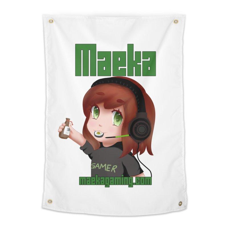 Maeka | maekagaming.com Home Tapestry by Maeka's Artist Shop