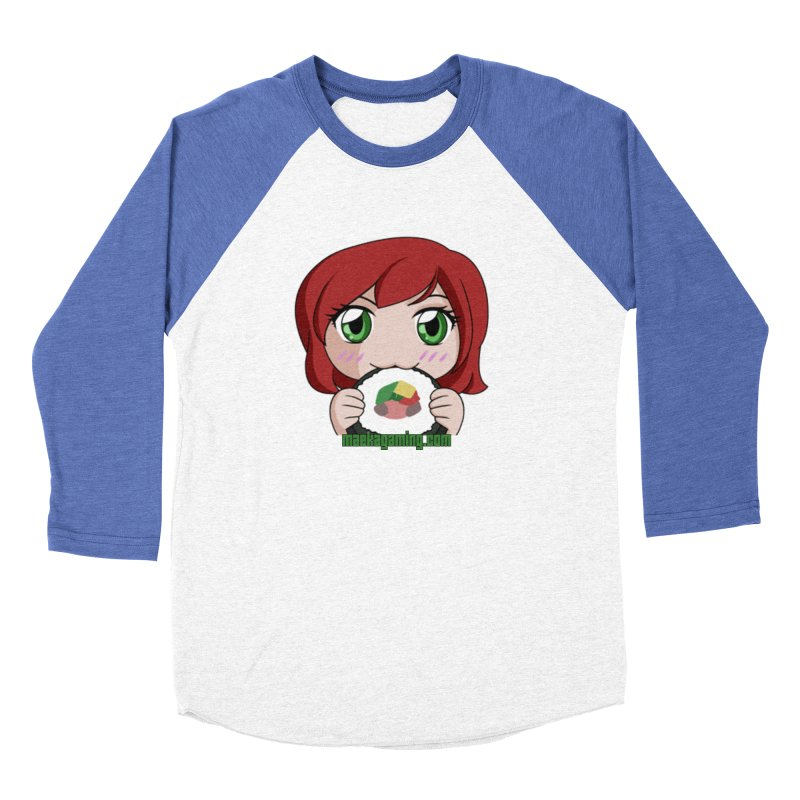 Maeka | maekagaming.com Women's Baseball Triblend Longsleeve T-Shirt by Maeka's Artist Shop