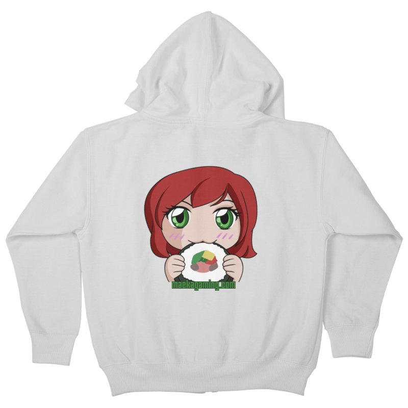 Maeka | maekagaming.com Kids Zip-Up Hoody by Maeka's Artist Shop