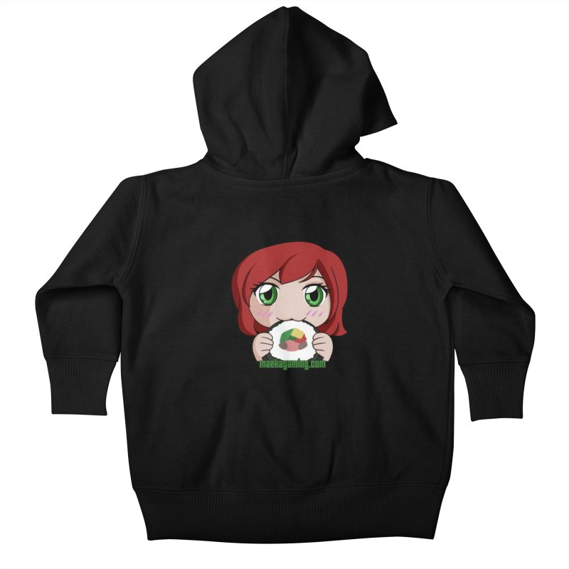 Maeka | maekagaming.com Kids Baby Zip-Up Hoody by Maeka's Artist Shop