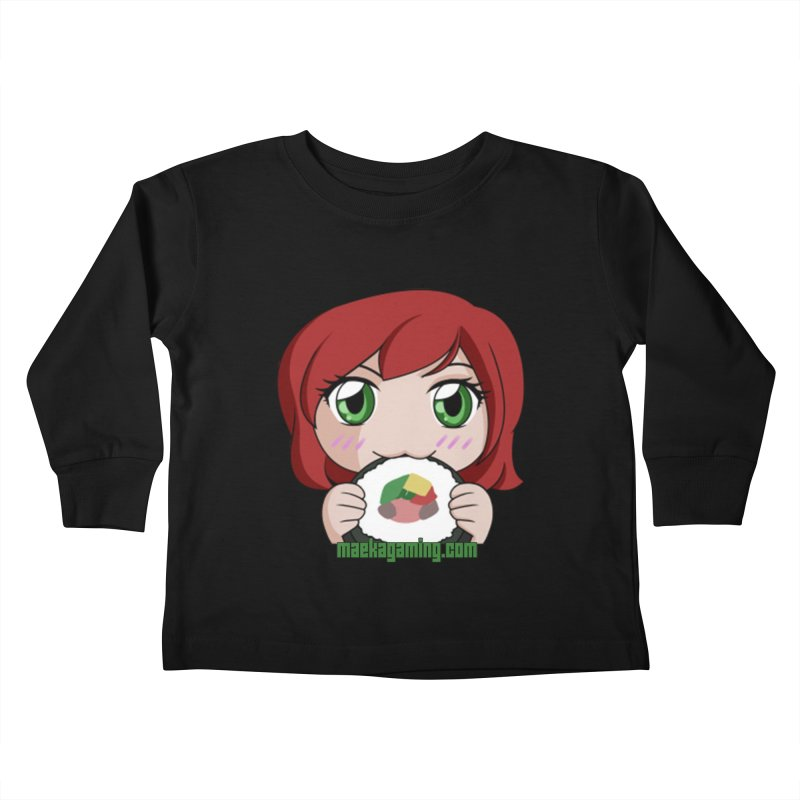 Maeka | maekagaming.com Kids Toddler Longsleeve T-Shirt by Maeka's Artist Shop