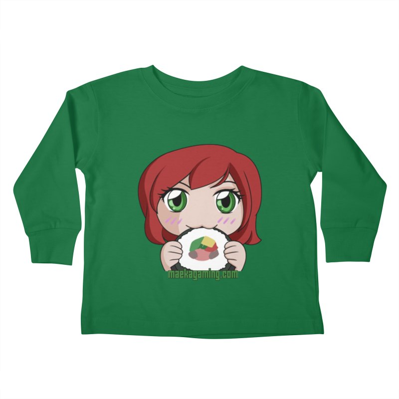 Maeka   maekagaming.com Kids Toddler Longsleeve T-Shirt by Maeka's Artist Shop