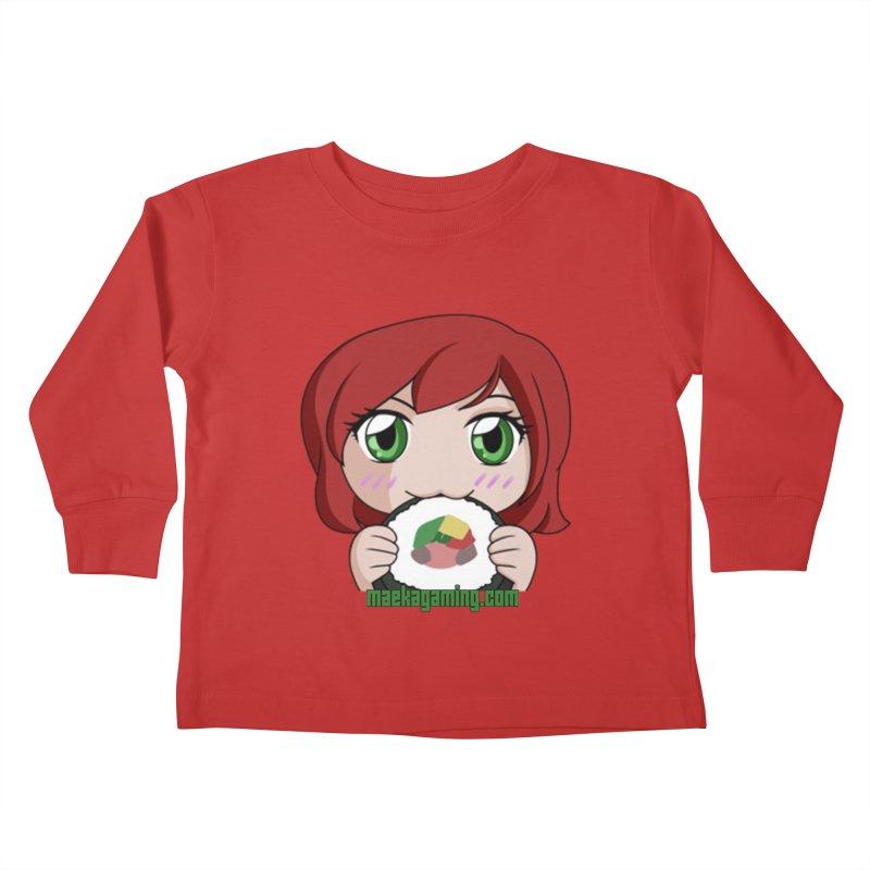 Maeka | maekagaming.com Kids Toddler Longsleeve T-Shirt by Maeka's Artist Shop