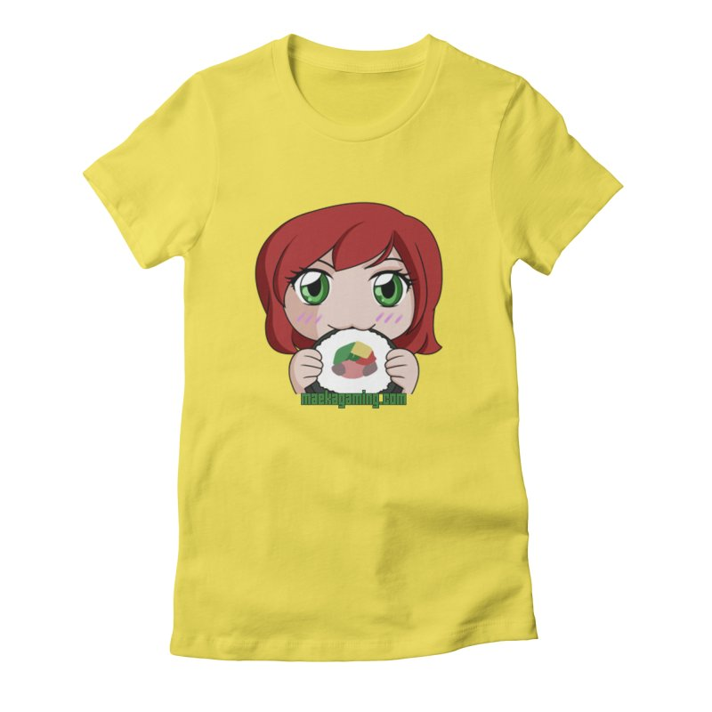 Maeka | maekagaming.com Women's Fitted T-Shirt by Maeka's Artist Shop