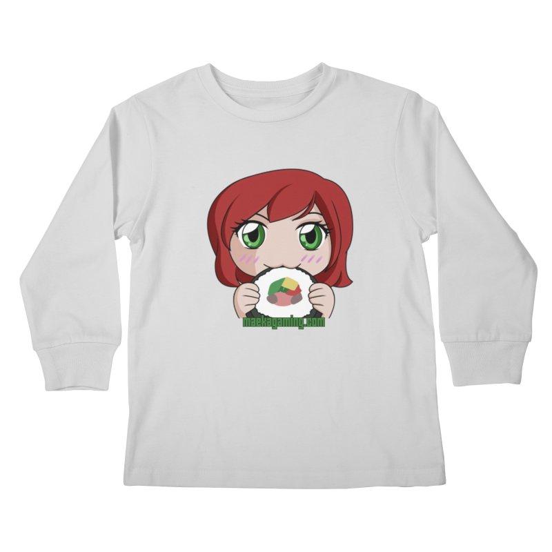 Maeka | maekagaming.com Kids Longsleeve T-Shirt by Maeka's Artist Shop
