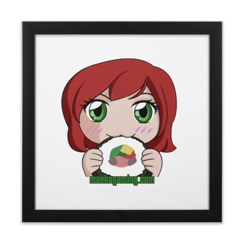 Maeka | maekagaming.com Home Framed Fine Art Print by Maeka's Artist Shop