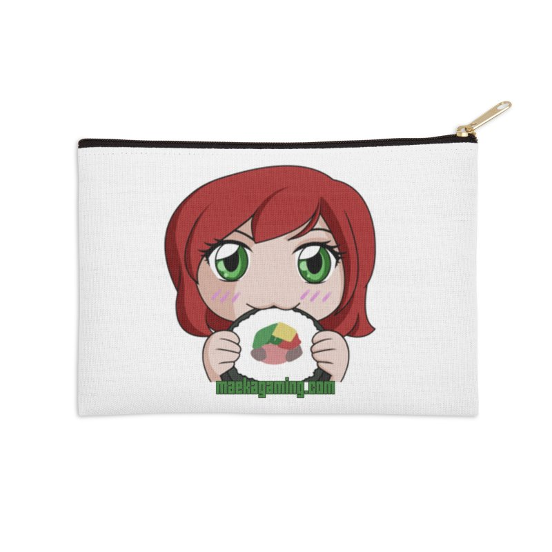 Maeka | maekagaming.com Accessories Zip Pouch by Maeka's Artist Shop