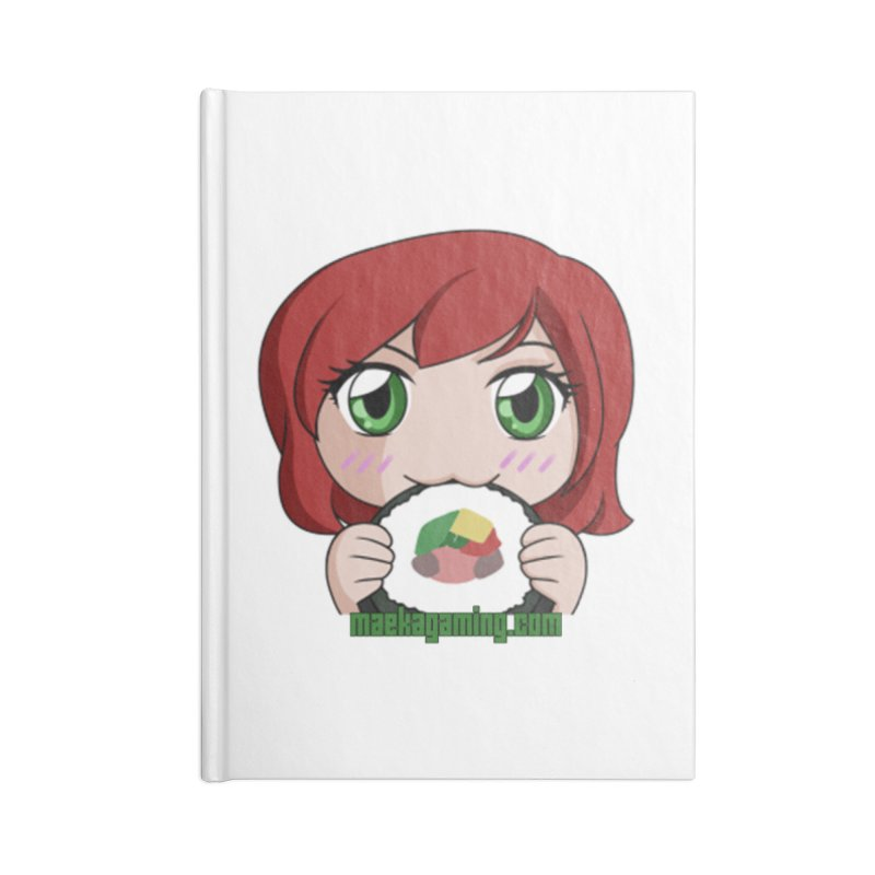 Maeka | maekagaming.com Accessories Notebook by Maeka's Artist Shop