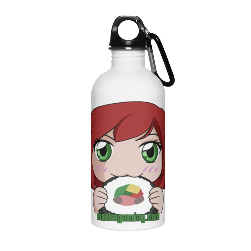 Maeka | maekagaming.com Accessories Water Bottle by Maeka's Artist Shop