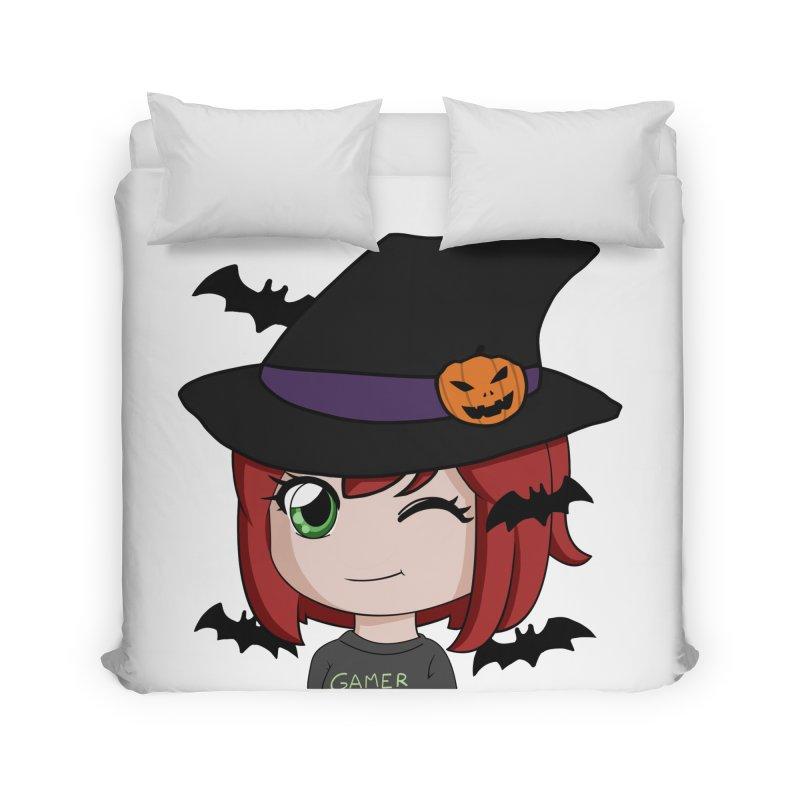 Witchy Maeka Home Duvet by Maeka's Artist Shop