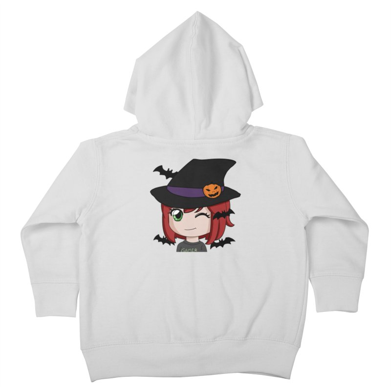 Witchy Maeka Kids Toddler Zip-Up Hoody by Maeka's Artist Shop