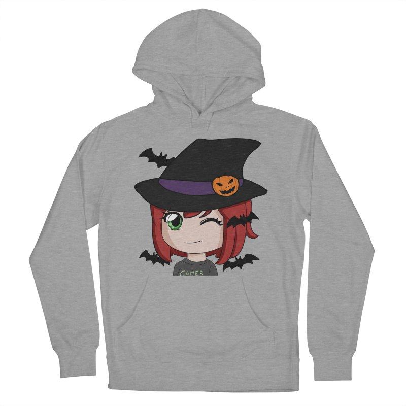 Witchy Maeka Women's Pullover Hoody by Maeka's Artist Shop