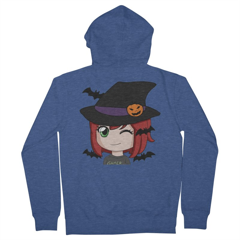 Witchy Maeka Men's Zip-Up Hoody by Maeka's Artist Shop