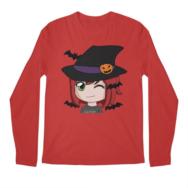 Witchy Maeka Men's Regular Longsleeve T-Shirt by Maeka's Artist Shop