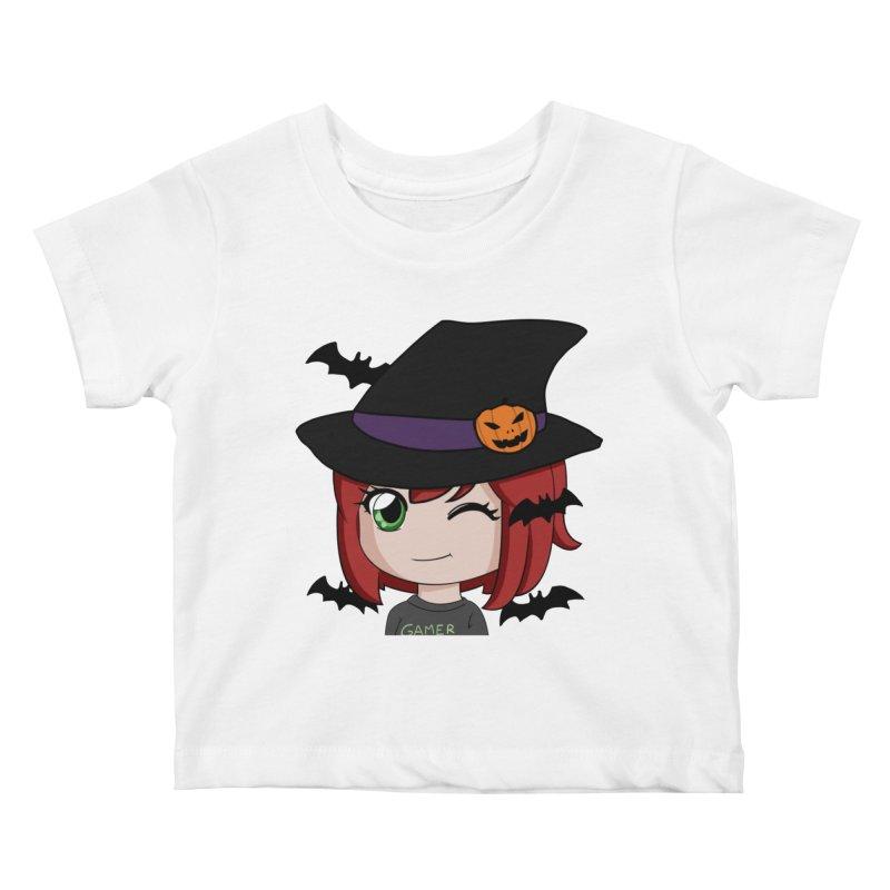 Witchy Maeka Kids Baby T-Shirt by Maeka's Artist Shop
