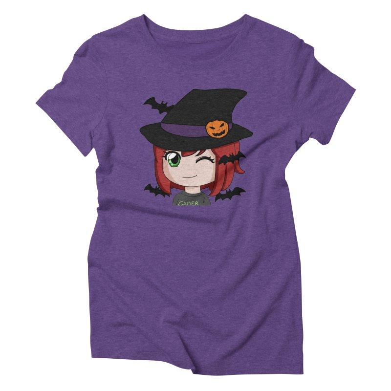 Witchy Maeka Women's Triblend T-Shirt by Maeka's Artist Shop