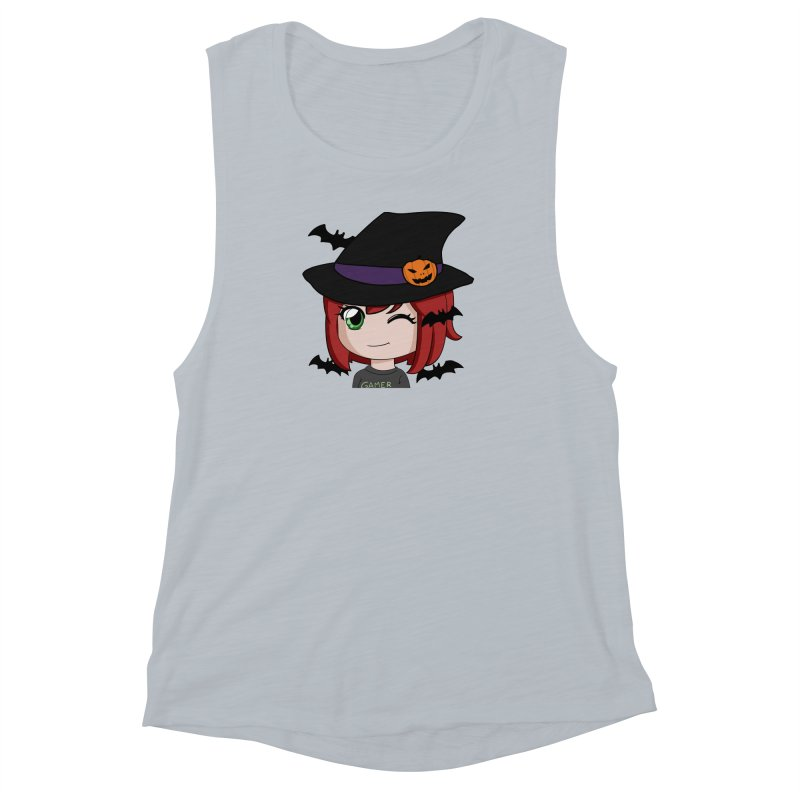 Witchy Maeka Women's Muscle Tank by Maeka's Artist Shop
