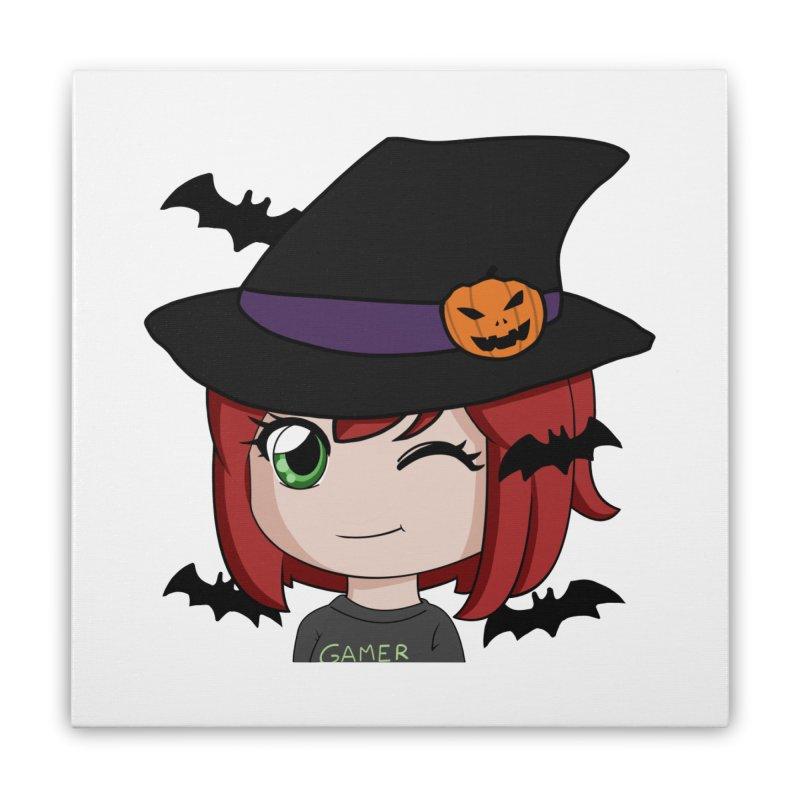 Witchy Maeka Home Stretched Canvas by Maeka's Artist Shop