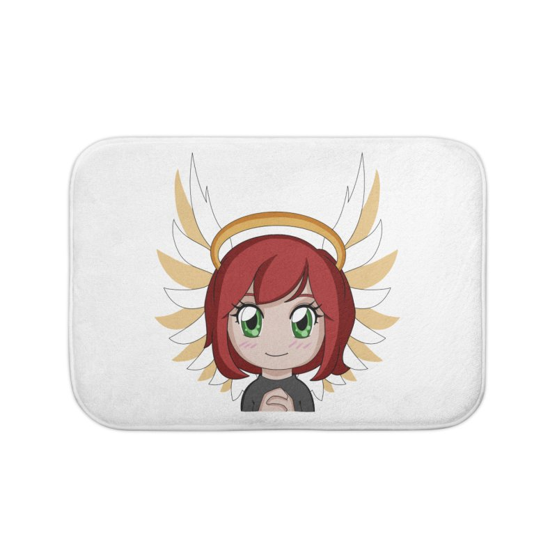 Angel Maeka Home Bath Mat by Maeka's Artist Shop