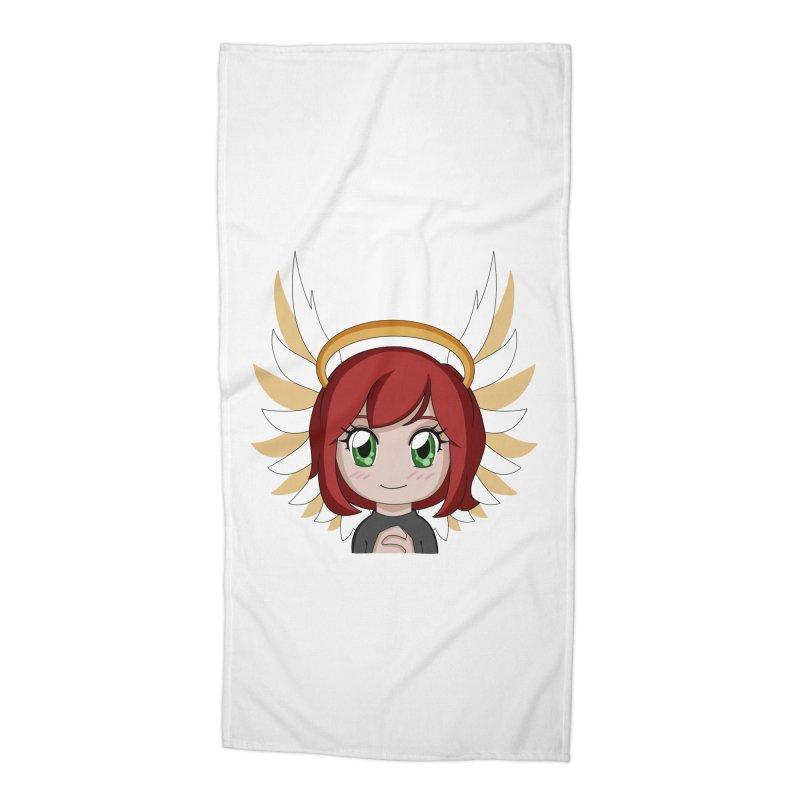 Angel Maeka Accessories Beach Towel by Maeka's Artist Shop