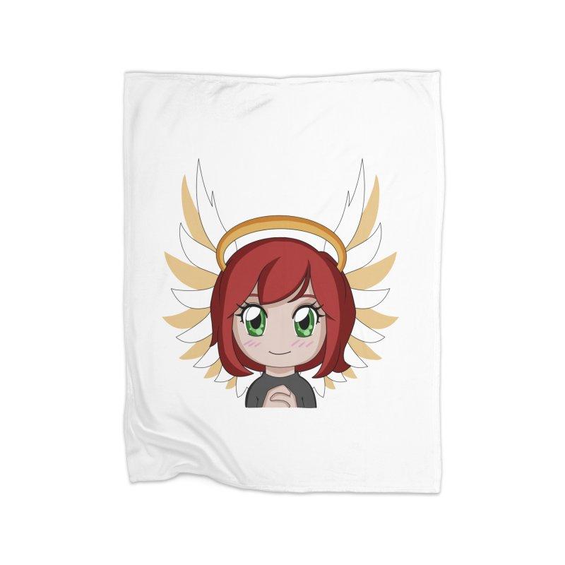 Angel Maeka Home Blanket by Maeka's Artist Shop