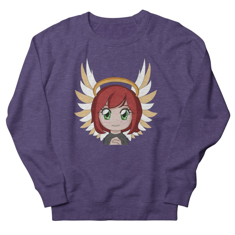 Angel Maeka Men's French Terry Sweatshirt by Maeka's Artist Shop