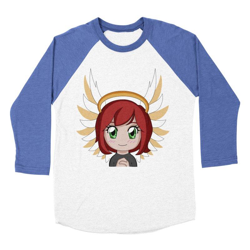 Angel Maeka Women's Baseball Triblend T-Shirt by Maeka's Artist Shop