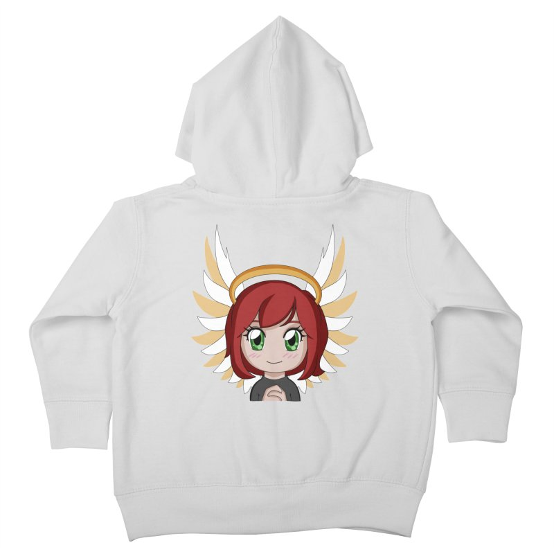 Angel Maeka Kids Toddler Zip-Up Hoody by Maeka's Artist Shop