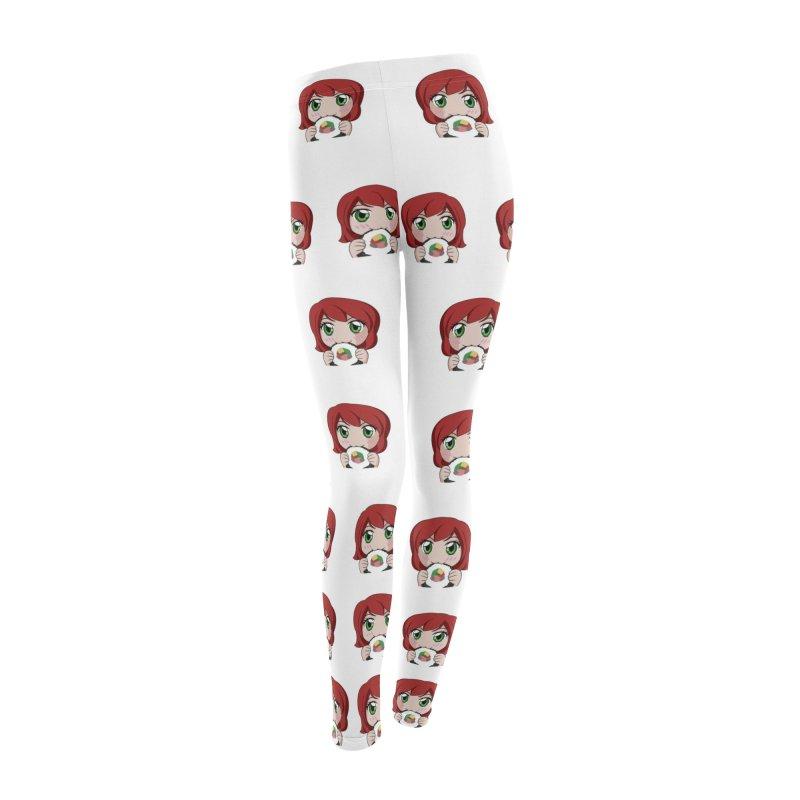 Maeka Women's Leggings Bottoms by Maeka's Artist Shop