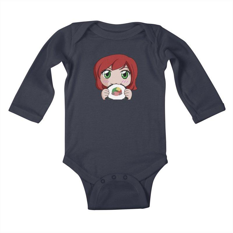 Maeka Kids Baby Longsleeve Bodysuit by Maeka's Artist Shop