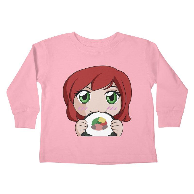 Maeka Kids Toddler Longsleeve T-Shirt by Maeka's Artist Shop