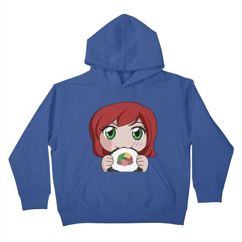 Maeka Kids Pullover Hoody by Maeka's Artist Shop