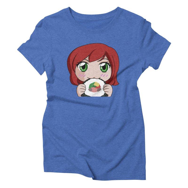 Maeka Women's Triblend T-Shirt by Maeka's Artist Shop