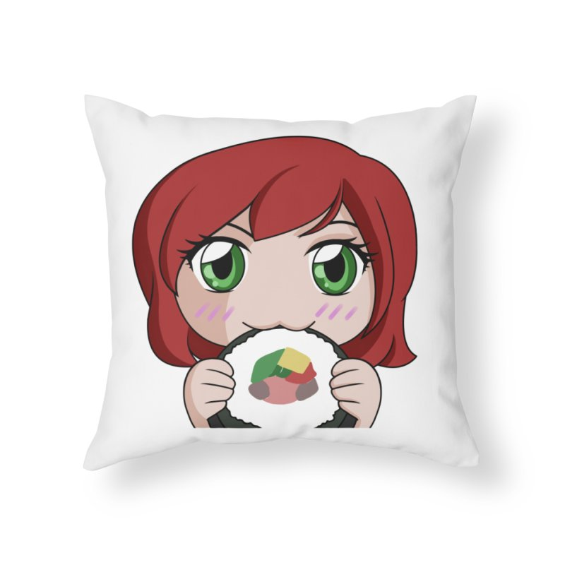 Maeka Home Throw Pillow by Maeka's Artist Shop