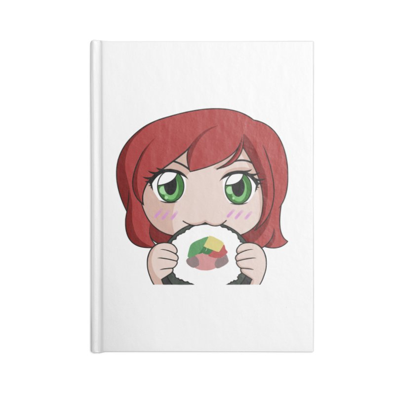 Maeka Accessories Notebook by Maeka's Artist Shop