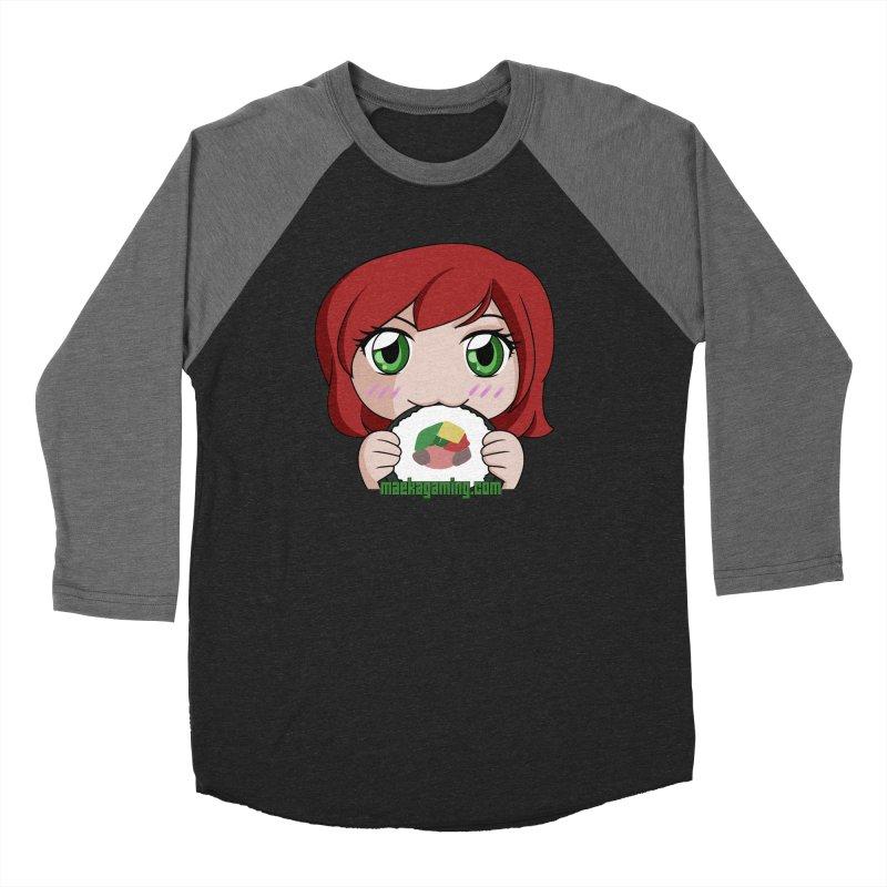 Maeka Men's Baseball Triblend Longsleeve T-Shirt by Maeka's Artist Shop
