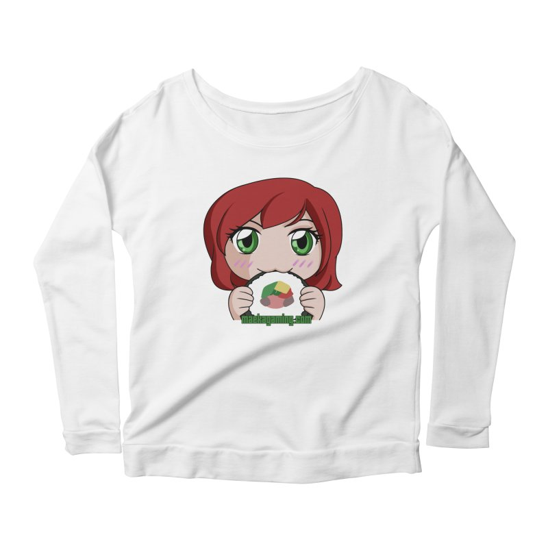 Maeka Women's Scoop Neck Longsleeve T-Shirt by Maeka's Artist Shop