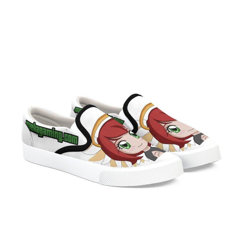 Angel Maeka Women's Slip-On Shoes by Maeka's Artist Shop