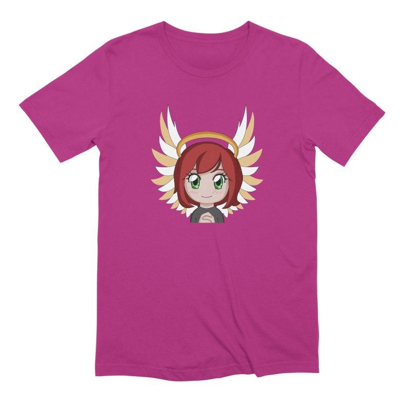 Angel Maeka Men's Extra Soft T-Shirt by Maeka's Artist Shop