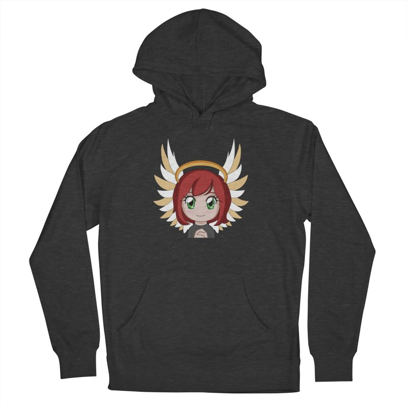 Angel Maeka Women's French Terry Pullover Hoody by Maeka's Artist Shop