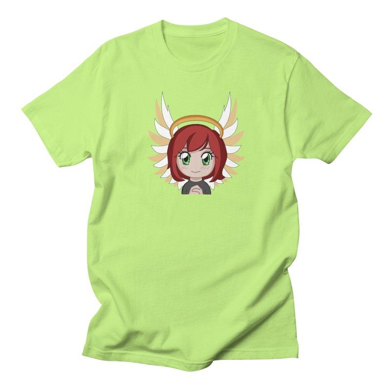 Angel Maeka Men's Regular T-Shirt by Maeka's Artist Shop